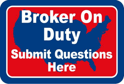 Broker On Duty - Submit Questions Here