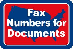 Fax Numbers For Documents