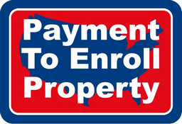 Payment To Enroll Property