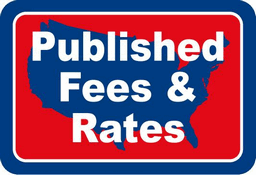Published Fees & Rates